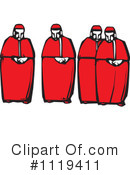 Royalty-Free (RF) Catholic Cardinal Clipart Illustration #1119411