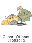 Royalty-Free (RF) cats Clipart Illustration #1053012