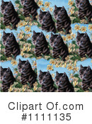 Royalty-Free (RF) Cats Clipart Illustration #1111135