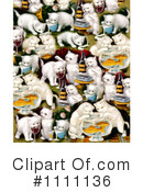 Royalty-Free (RF) Cats Clipart Illustration #1111136
