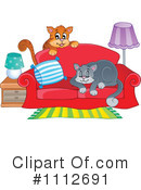 Royalty-Free (RF) Cats Clipart Illustration #1112691