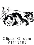 Royalty-Free (RF) Cats Clipart Illustration #1113198