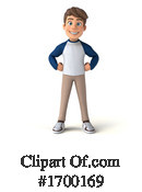 Caucasian Boy Clipart #1700169 by Julos
