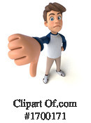 Caucasian Boy Clipart #1700171 by Julos