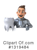 Caucasian Male Knight Clipart #1319484 by Julos