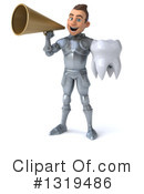 Caucasian Male Knight Clipart #1319486 by Julos
