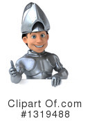 Caucasian Male Knight Clipart #1319488 by Julos