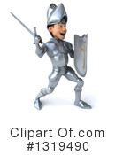 Caucasian Male Knight Clipart #1319490 by Julos