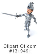 Caucasian Male Knight Clipart #1319491 by Julos