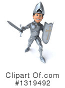 Caucasian Male Knight Clipart #1319492 by Julos