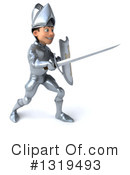 Caucasian Male Knight Clipart #1319493 by Julos