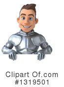 Caucasian Male Knight Clipart #1319501 by Julos