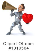Caucasian Male Knight Clipart #1319504 by Julos