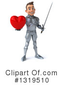 Caucasian Male Knight Clipart #1319510 by Julos