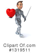 Caucasian Male Knight Clipart #1319511 by Julos