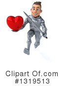 Caucasian Male Knight Clipart #1319513 by Julos