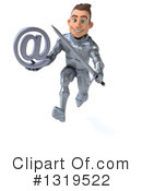 Caucasian Male Knight Clipart #1319522 by Julos