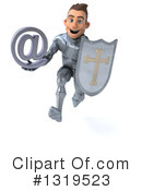 Caucasian Male Knight Clipart #1319523 by Julos