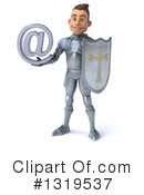 Caucasian Male Knight Clipart #1319537 by Julos