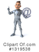 Caucasian Male Knight Clipart #1319538 by Julos