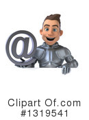 Caucasian Male Knight Clipart #1319541 by Julos