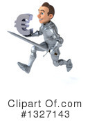Caucasian Male Knight Clipart #1327143 by Julos
