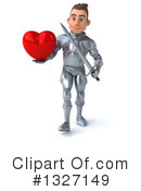 Caucasian Male Knight Clipart #1327149 by Julos