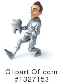 Caucasian Male Knight Clipart #1327153 by Julos