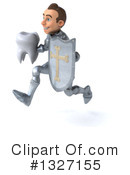 Caucasian Male Knight Clipart #1327155 by Julos