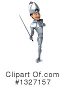 Caucasian Male Knight Clipart #1327157 by Julos