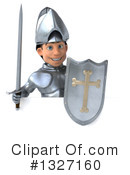 Caucasian Male Knight Clipart #1327160 by Julos