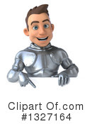 Caucasian Male Knight Clipart #1327164 by Julos