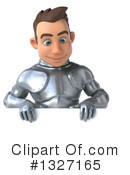 Caucasian Male Knight Clipart #1327165 by Julos