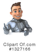 Caucasian Male Knight Clipart #1327166 by Julos