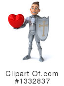 Caucasian Male Knight Clipart #1332837 by Julos