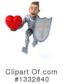 Caucasian Male Knight Clipart #1332840 by Julos