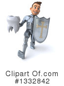 Caucasian Male Knight Clipart #1332842 by Julos