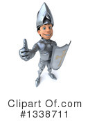 Caucasian Male Knight Clipart #1338711 by Julos