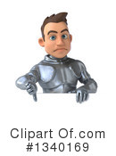 Caucasian Male Knight Clipart #1340169 by Julos