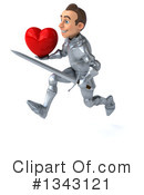 Caucasian Male Knight Clipart #1343121 by Julos