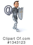 Caucasian Male Knight Clipart #1343123 by Julos