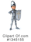 Caucasian Male Knight Clipart #1345155 by Julos