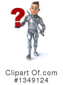 Caucasian Male Knight Clipart #1349124 by Julos