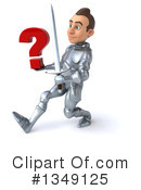 Caucasian Male Knight Clipart #1349125 by Julos