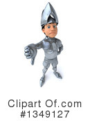 Caucasian Male Knight Clipart #1349127 by Julos
