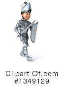 Caucasian Male Knight Clipart #1349129 by Julos