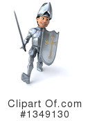 Caucasian Male Knight Clipart #1349130 by Julos
