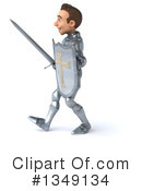 Caucasian Male Knight Clipart #1349134 by Julos