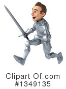 Caucasian Male Knight Clipart #1349135 by Julos