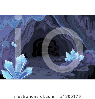 Royalty-Free (RF) Cave Clipart Illustration by Pushkin - Stock Sample #1305179